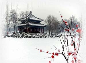 Summer Palace in Winter