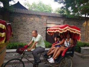 Rickshaw at Hutong area