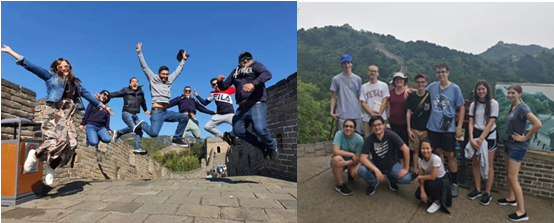 Group at Mutianyu Great Wall